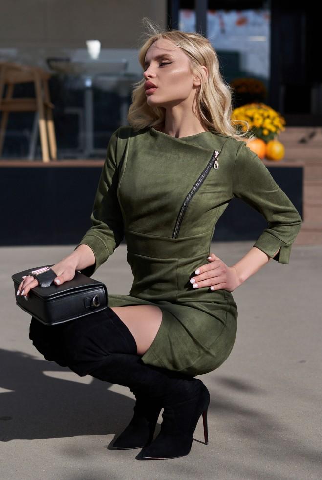Платье Айла KPC хаки