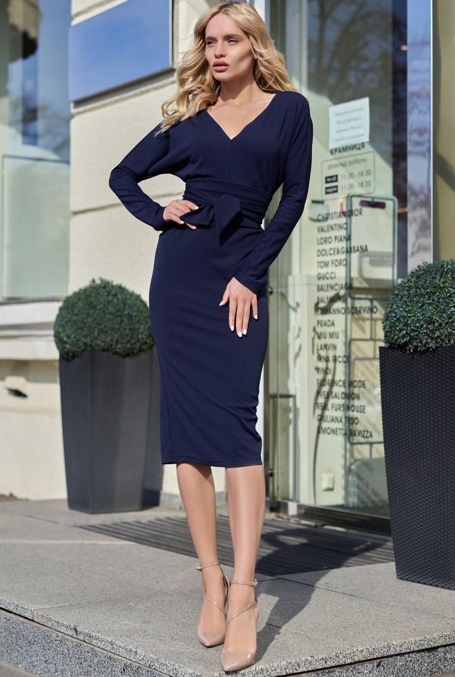 Платье Тереза KPC тёмно-синий