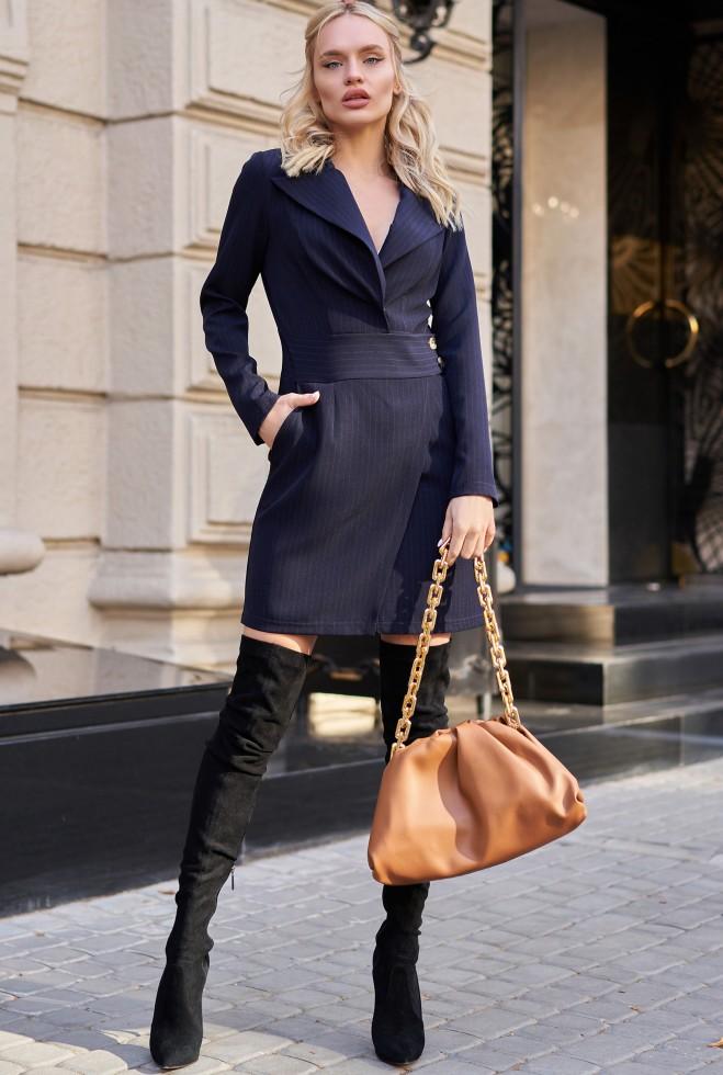 Платье Зоуи KPC тёмно-синий