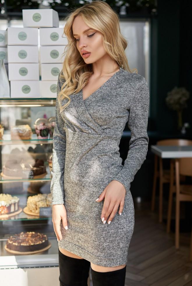 Платье Пейдж KPC серый