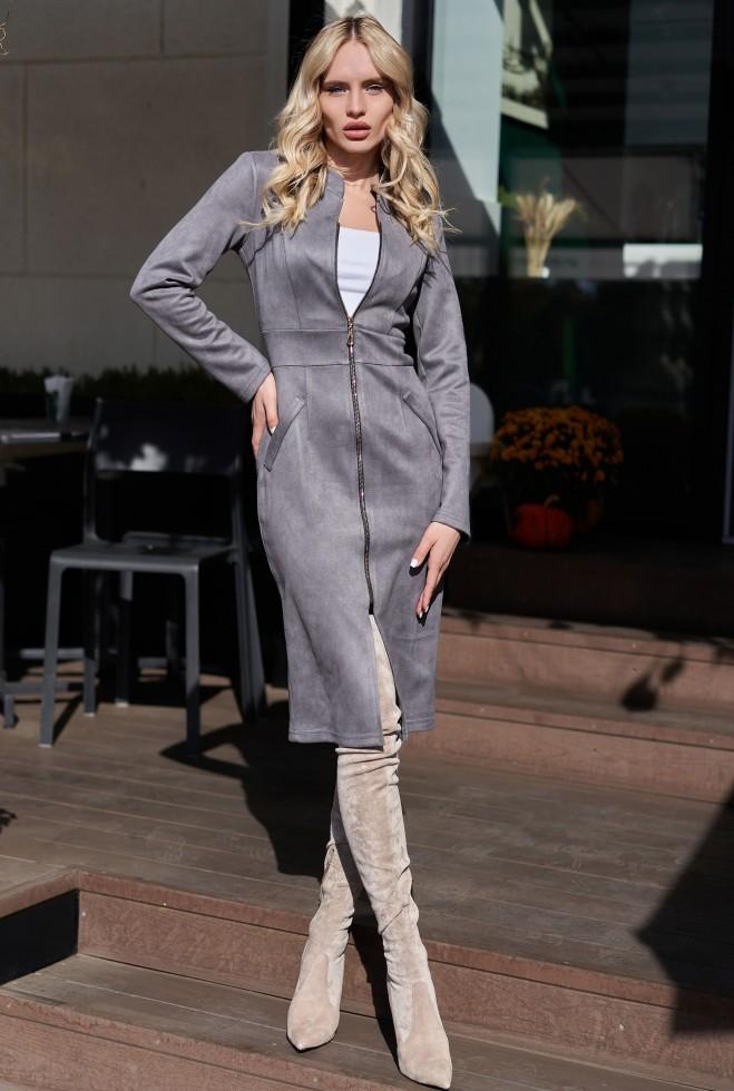 Платье Фиби KPC серый