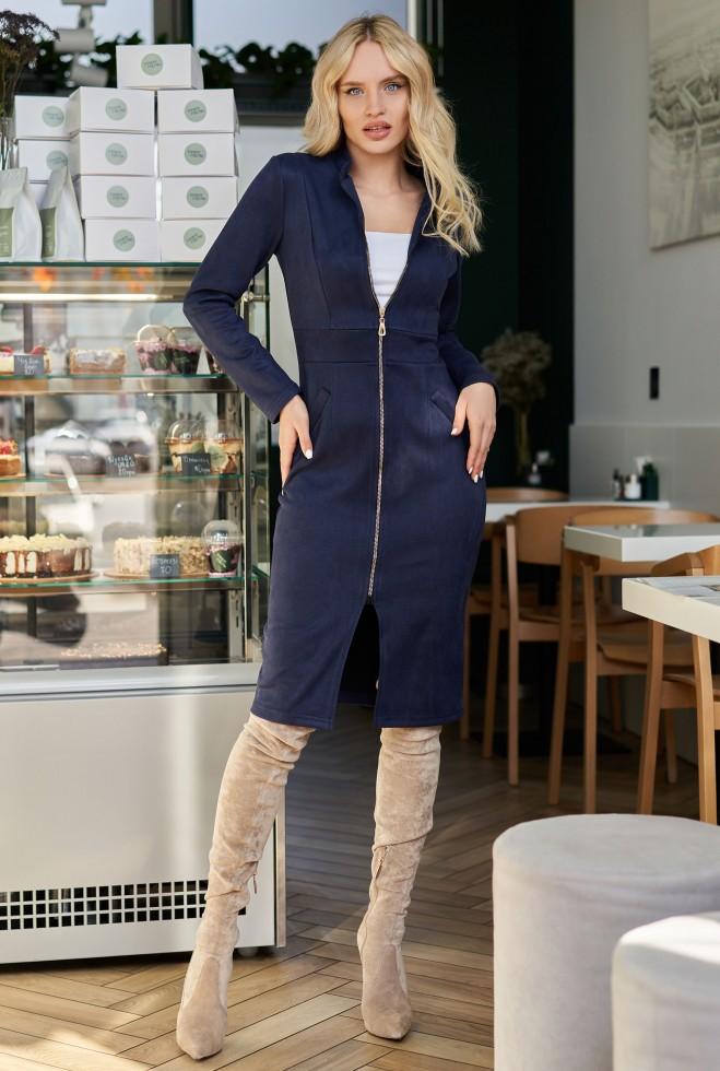 Платье Фиби KPC тёмно-синий