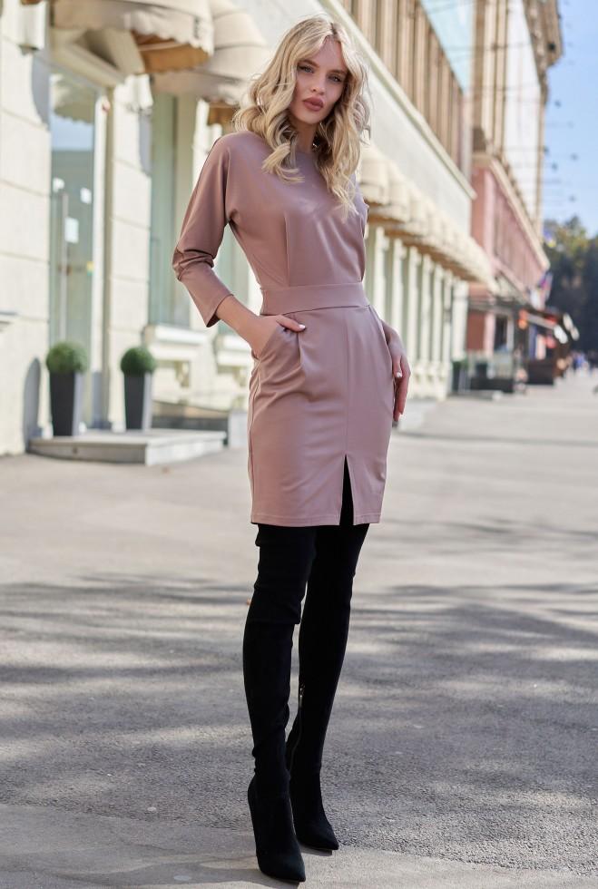 Платье Петра KPC кофе