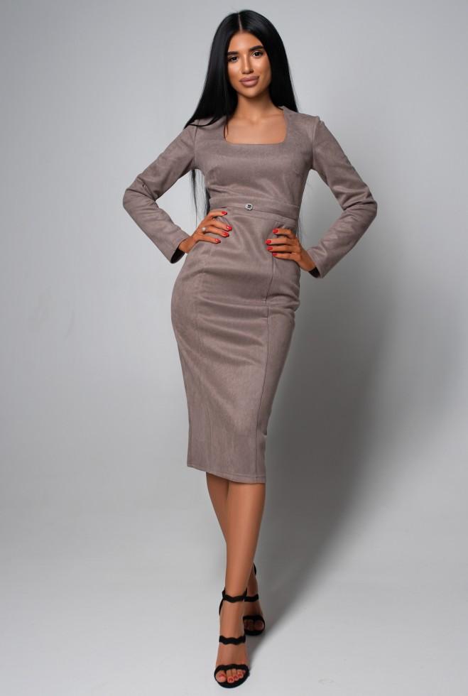 Платье Хель KPC кофе