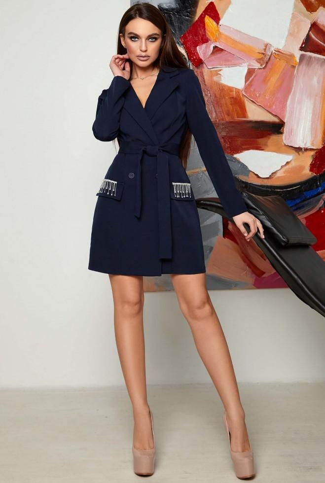 Платье Яни KPC тёмно-синий