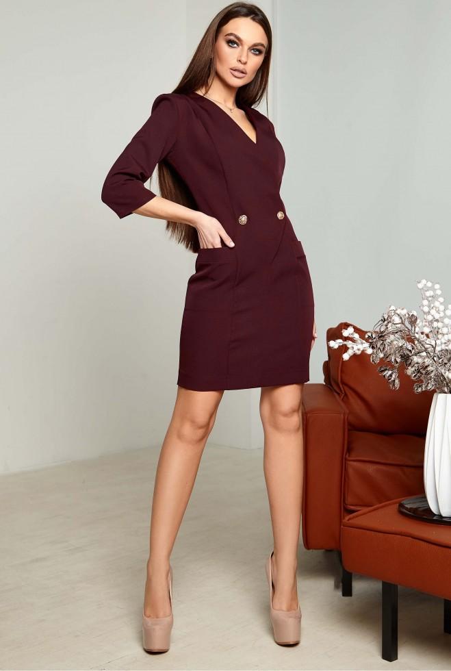 Платье Лима KPC марсала