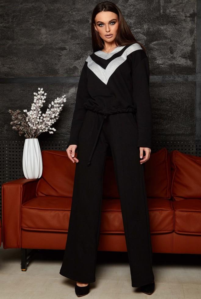 Прогулочный костюм Май KPC черный