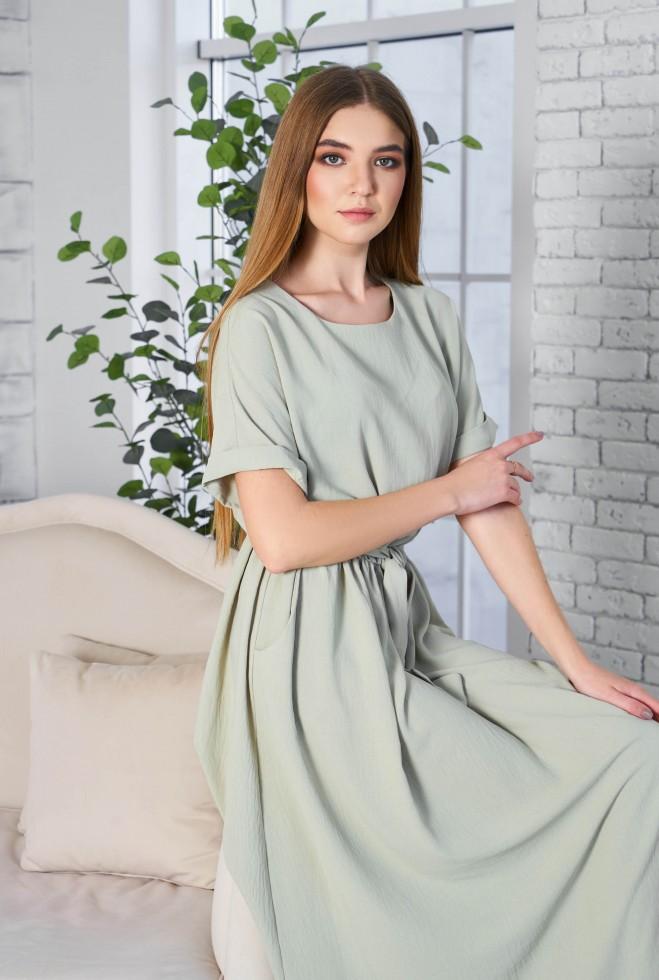 Платье Либре KPC оливка