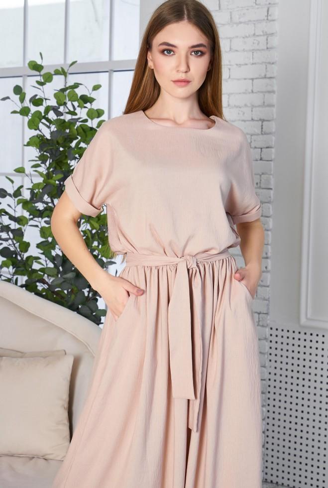 Платье Либре KPC бежевый