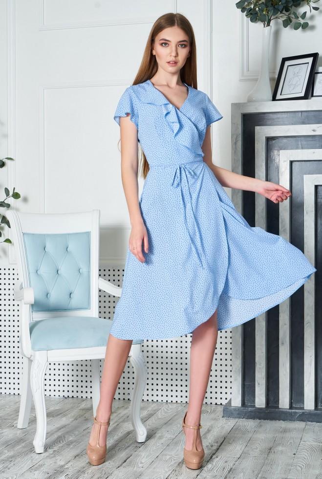 Платье Райт KPC голубой