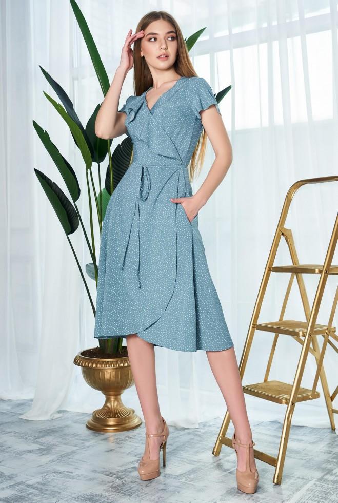 Платье Райт KPC бирюзовый