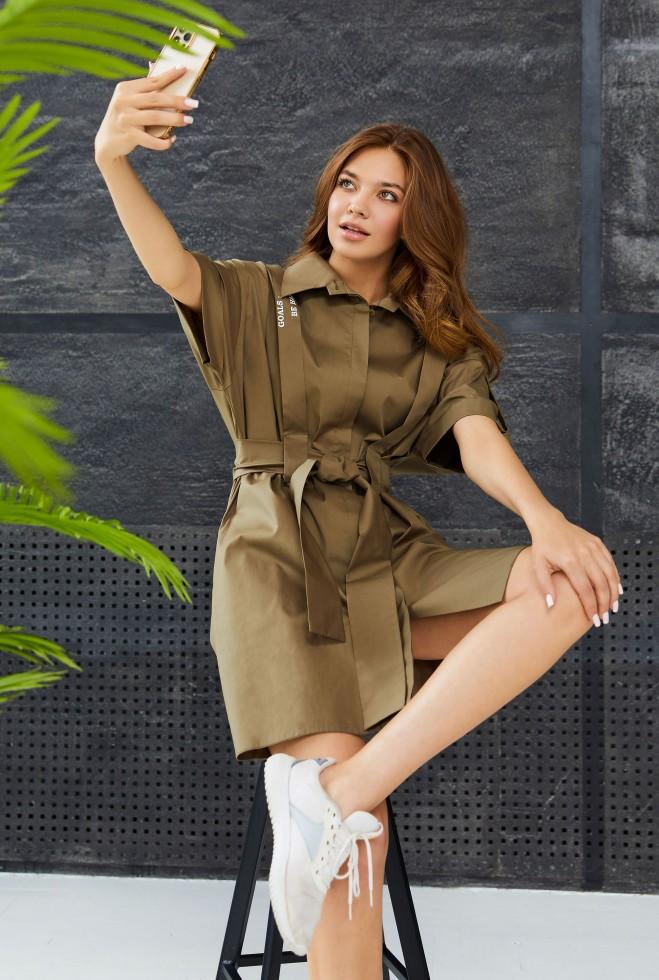 Платье Ванда KPC хаки